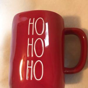 Rae Dunn Ho Ho Ho Red mug